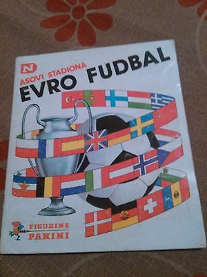 Euro Football 1976-77 - Complete Album With All Stickers - Panini