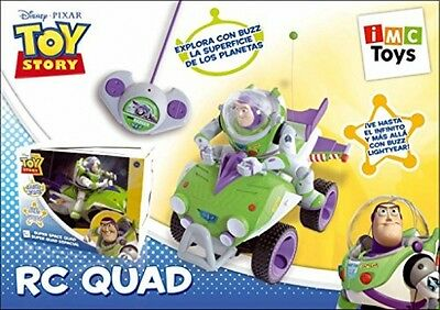 Toy Story Buzz Lightyear Remote Controlled Super Space Quad Kids Toy Bike