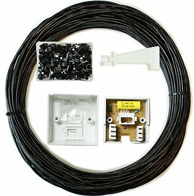 15M BT Extension Outdoor/External Cable/Lead Kit -Telephone Line Phone Broadband