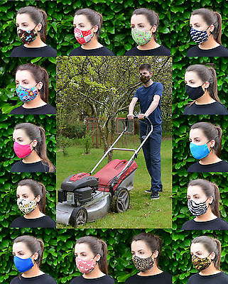MASKERAID 100% Cotton Reusable Gardening Aid Washable Face Mouth Nose Mask
