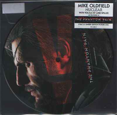 """Mike Oldfield-Nuclear.7"""" picture disc"""