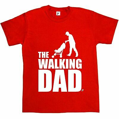 The Walking Dad Funny Parody Zombie Dead Undead Mens T-Shirt