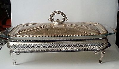 Queen Ann Silver Plated Serving Dish