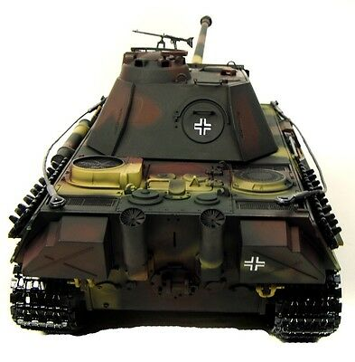 Taigen Fully Built Painted RC Tank 1:16 Scale 2.4Ghz Metal Upgrade Panther G