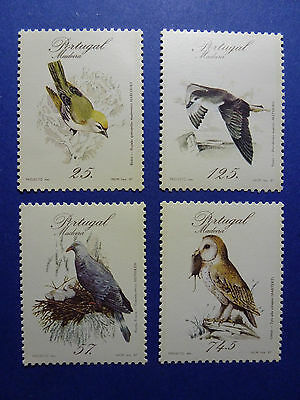 Lot 132 Timbres Stamp Faune Madere - Madeira Portugal Annee 1987