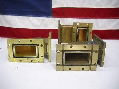 2856 MHZ Microwave Waveguide Bend Assembly Varian CMT HNL Lot of 3
