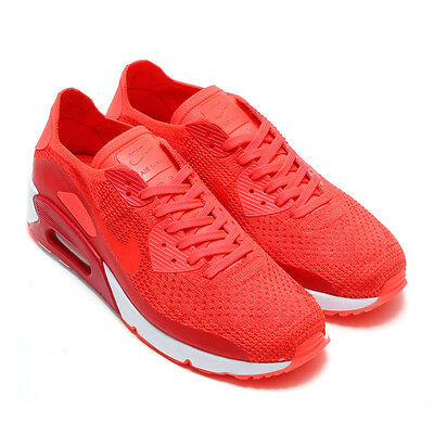 best sneakers 20b5c 0964f New 875943 600 Mens Nike Air Max 90 Ultra 2.0 Flyknit Shoes!! Bright Crimson