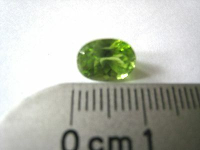 Peridot Gem 3 Carats Lime Green Pakistan Gemstone Pakistani Natural Vs Oval Cut