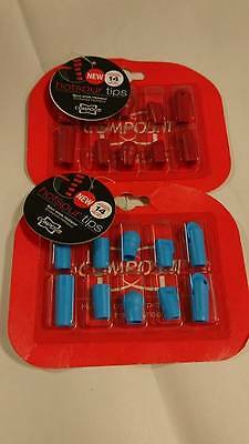 Compositi Spur Tips - kit contains five different models - Hi-Tech Polymer