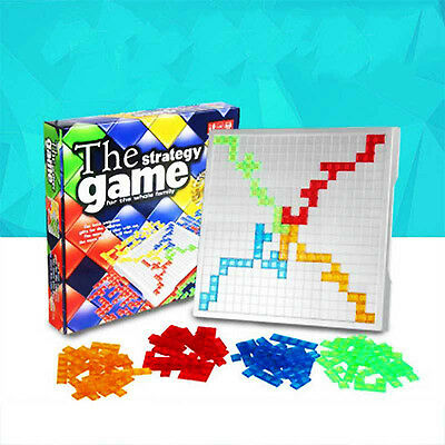 The Strategy Board Game Blokus Gifts Educational Toys Kids Children Family