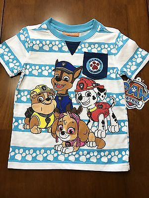 Paw Patrol t-shirt featuring Marshall, Chase, Ruble and Skye, toddler boy