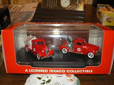 Texaco Limted Edition Vintage Replica's/ Tow Truck & Gas Truck/ by Solido