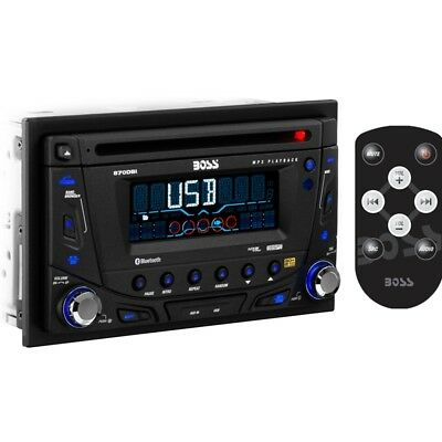Boss 870DBI Double DIN CD/MP3/USB/SD/AUX Bluetooth Car Player Stereo Receiver