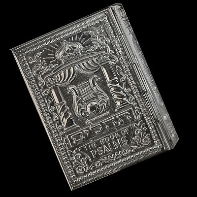Rare Books of Psalms Handmade s. silver Cover Filigree and Special Engraving