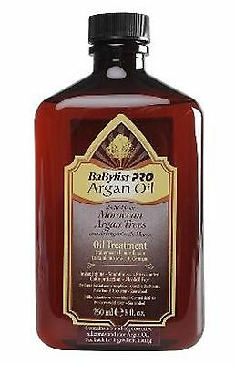 Babyliss Pro Moroccan Argan Oil Treatment 250 Ml Free Shipping