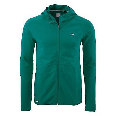 Kathmandu Firmus Mens Full Zip Active Jacket Fitness Sports Hoody Top v2 Green