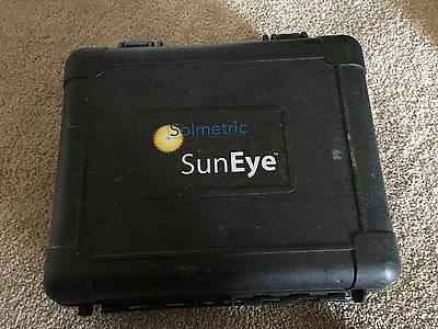 Solmetric SunEye 210 Solar Shade Tool with Hard Case, Manual, Disk, & Charger