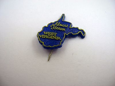 Vintage Collectible Pin: West Virginia Almost Heaven