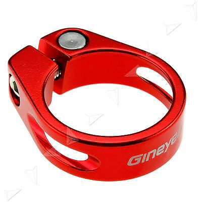 Bike Cycle Bicycle Seat Post Clamp CNC Clasp 34.9mm Quick Release For BMX Bike