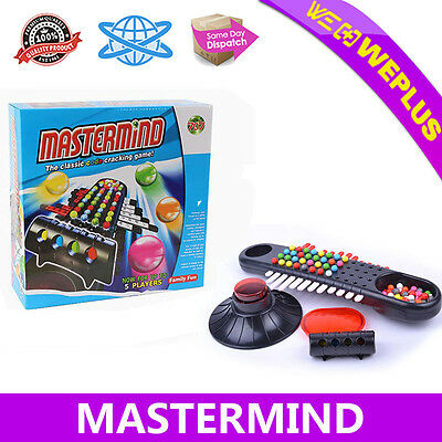 Mastermind Classic Code Cracking Board Game Strategy  Brain Master Family Party