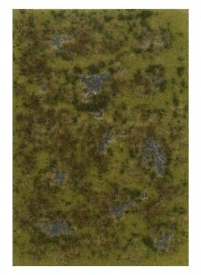 Marshland scenery sheet 297mmx210mm. Busch. Delivery is Free