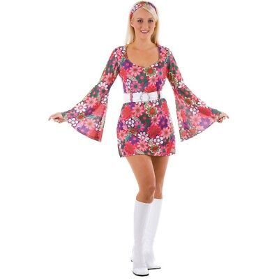 S Ladies Retro Go Go Girl Costume for 60s 70s Fancy Dress. these sellers
