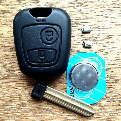 FOR Citroen Xsara Picasso 2 Button Remote Key Fob Case Blade FULL Repair Kit