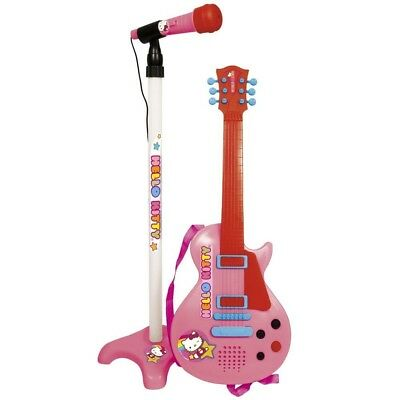 Reig Hello Kitty Guitar and Microphone. Delivery is Free