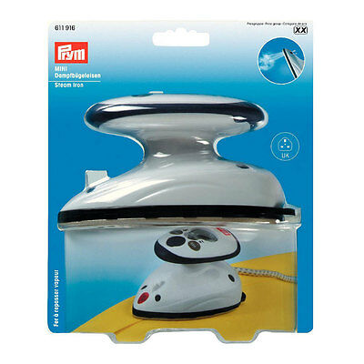 NEW Prym 611916 | Mini Steam Iron + Measuring Cup & Carrying Bag | FREE SHIPPING