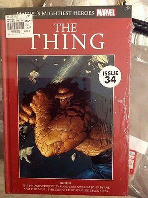 Marvel's Mightiest Heroes Graphic Novel Collection Issue 34 The Thing