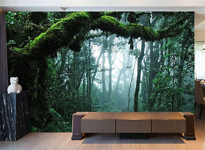 Superstar Deep Rainforest Full Wall Mural Photo Wallpaper Print Ki Home 3D Decal