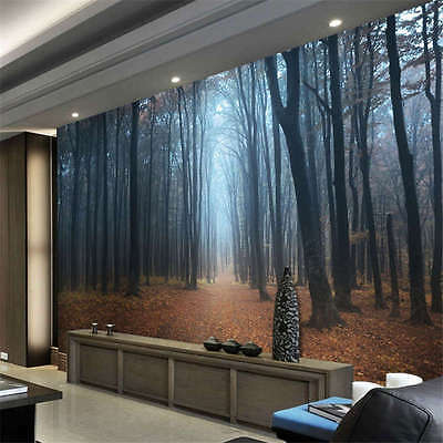 Black Forest Germany Night Full Wall Mural Photo Wallpaper Print Home 3D Decal