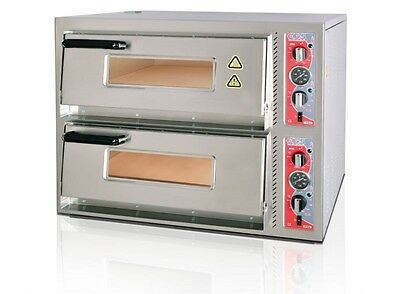 "ELECTRIC PIZZA  OVEN - DOUBLE DECK BRAND NEW CANMAC CATERING 8x12"" Pizza"