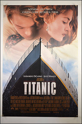 Titanic (1997) International One Sheet Movie Poster