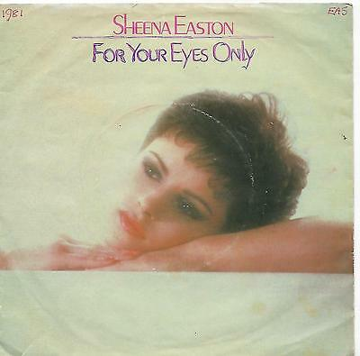 "Sheena Easton - For Your Eyes Only - 7"" Single"