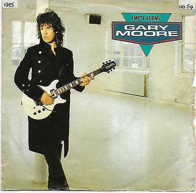 "Gary Moore - Empty Rooms - 7"" Single"