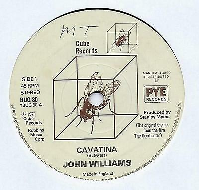 "John Williams - Romanza - 7"" Single"