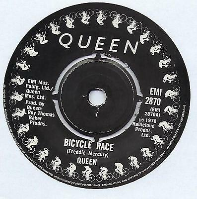 """Queen - Bicycle Race - 7"""" Single"""