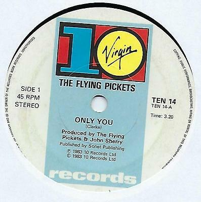 "The Flying Pickets - Only You - 7"" Single"