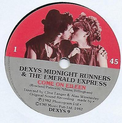 "Dexys Midnight Runners - Come On Eileen - 7"" Single"