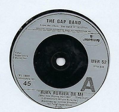 "The Gap Band - Burn Rubber On Me (Why You Wanna Hurt Me) - 7"" Single"