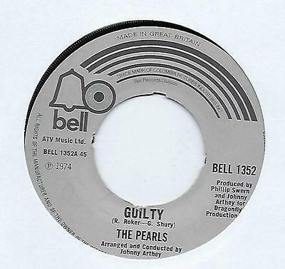 """The Pearls - Guilty - 7"""" Single"""