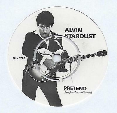"Alvin Stardust - Pretend - 7"" Single"
