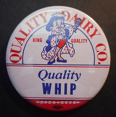 "Quality Dairy Co. King Quality Pin 3"" Dia"