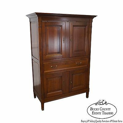 Grange Quality French Directoire Style TV Armoire Cabinet