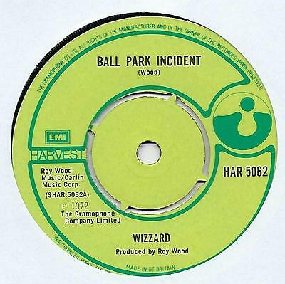 "Wizzard - Ball Park Incident - 7"" Single"