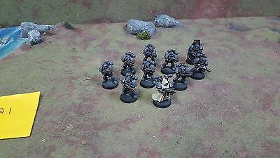 Warhammer 40k Space Marines Tactical Squad with Heavy Bolter