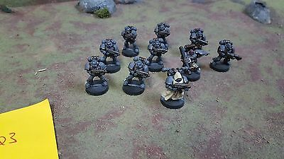 Warhammer 40k Space Marines Tactical Squad with heavy weapon