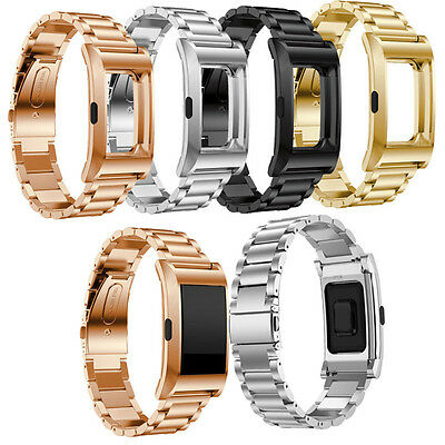 Shockproof 1:1 Replacement Stainless Steel Band Protector For Fitbit Charge 2/HR