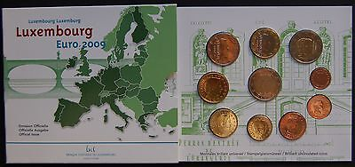 Luxembourg / Luxemburg. 2009  Eurocoin Set. Official